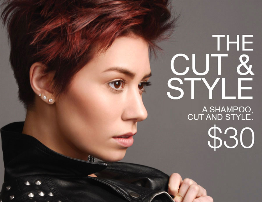 Cutting Group Cut & Style Service for $30